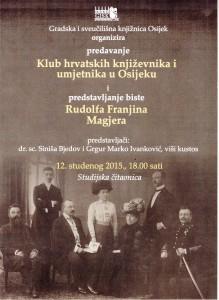 Pozivnica Rudolf Franjin Magjer